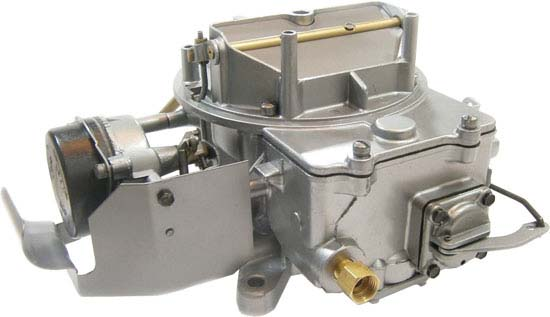 68-69 Autolite 2100 Round Back Carburetor, (2v), 1.08 Venturi, 287 CFM, Remanufactured