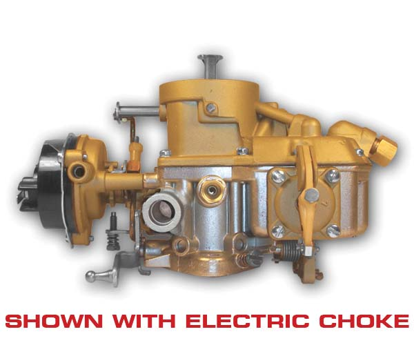 66-67 Autolite 1100 Carburetor w/ Automatic Transmission, (1v) w/ Bronze Upper, Remanufactured  CALIFORNIA EMISSIONS ONLY!