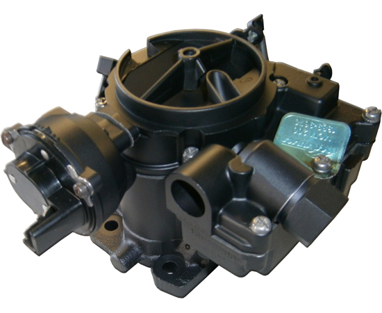 Mercruiser MCM 200 Marine Carburetor, (2V), Remanufactured, Black  Rebuild & Return Service